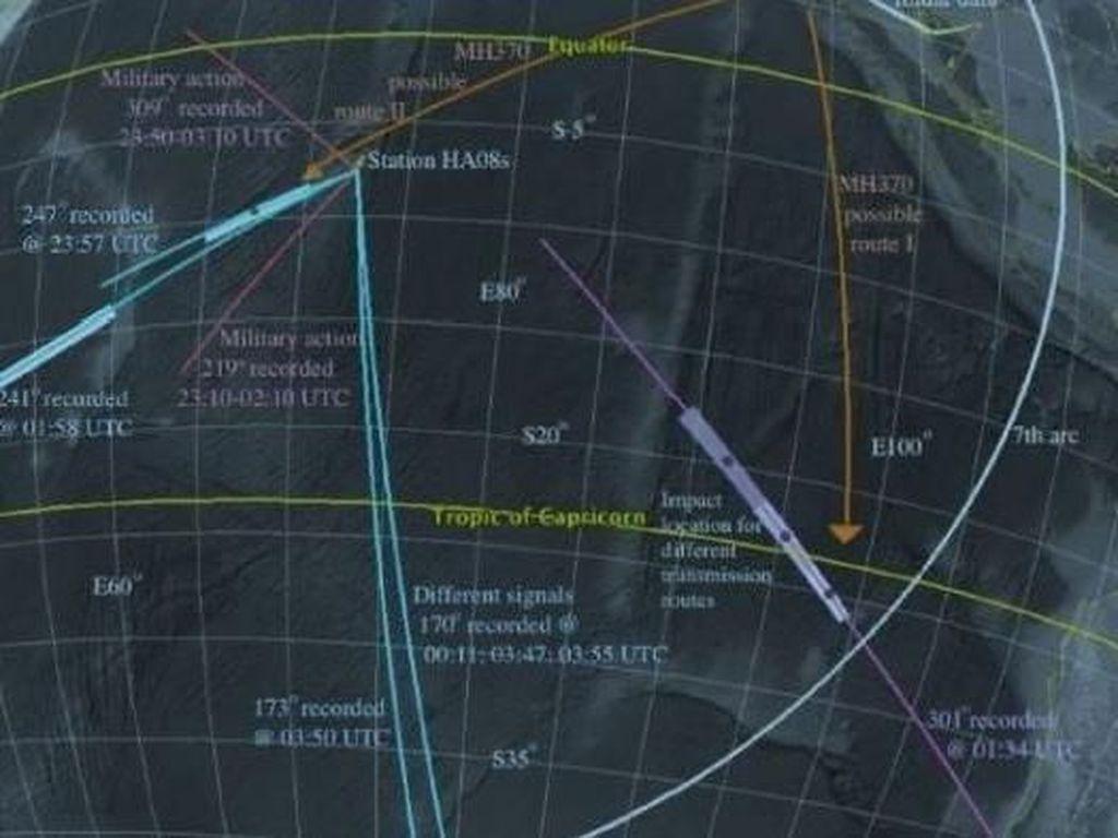 MH370 Jatuh di Dekat Madagascar Berdasarkan Sinyal Mikrofon Bawah Laut