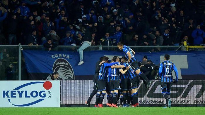 Atalanta menyingkirkan Juventus dari Coppa Italia setelah menang dengan skor 3-0 (REUTERS/Massimo Pinca)