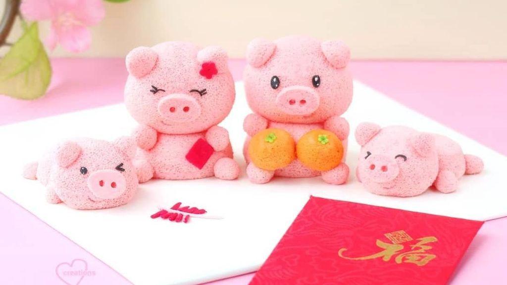 Imut dan Lucu! 10 Kue Bentuk Babi Untuk Sambut Tahun Babi Tanah
