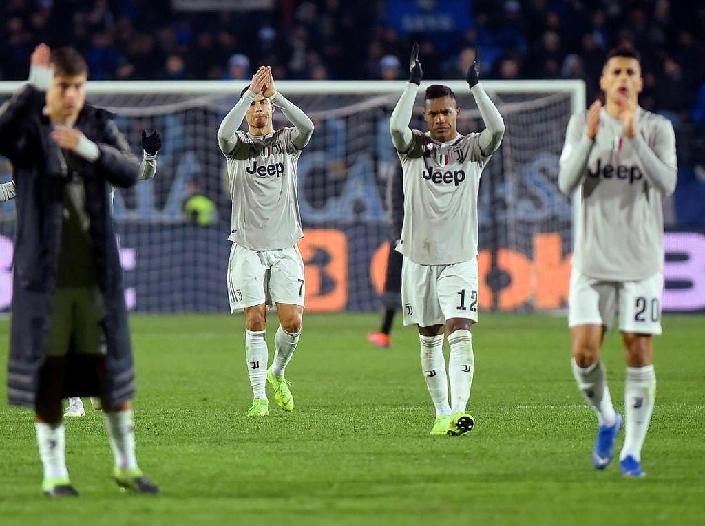 Juventus Terjungkal di Coppa Italia