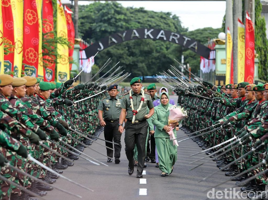 Salam Komando, Pak Eko Resmi Jabat Pangdam Jaya