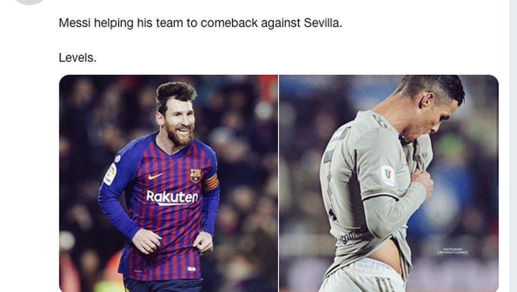 Juventus Rontok, Cristiano Ronaldo Kena Bully Netizen