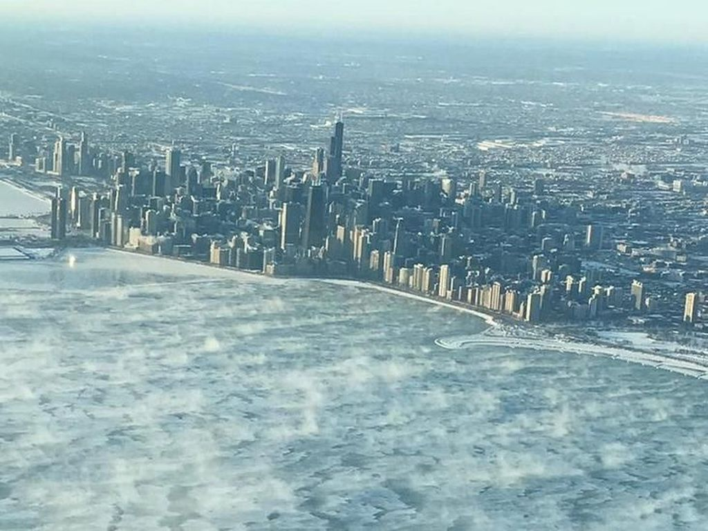Cuaca Ala Kutub Landa AS, Suhu Tembus Minus 54 Derajat Celsius