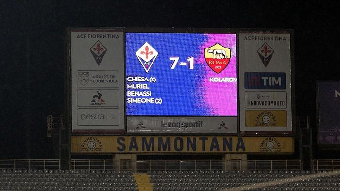 As Roma sudah enam kali kebobolan tujuh gol di satu pertandingan. (Foto: Gabriele Maltinti/Getty Images)