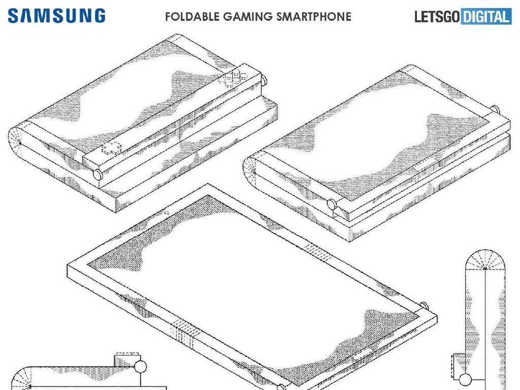 Gebrakan Samsung: Bikin Ponsel Gaming Layar Lipat?