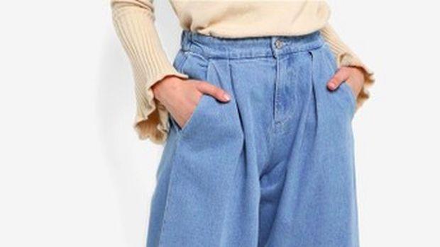 ilustrasi jeans/