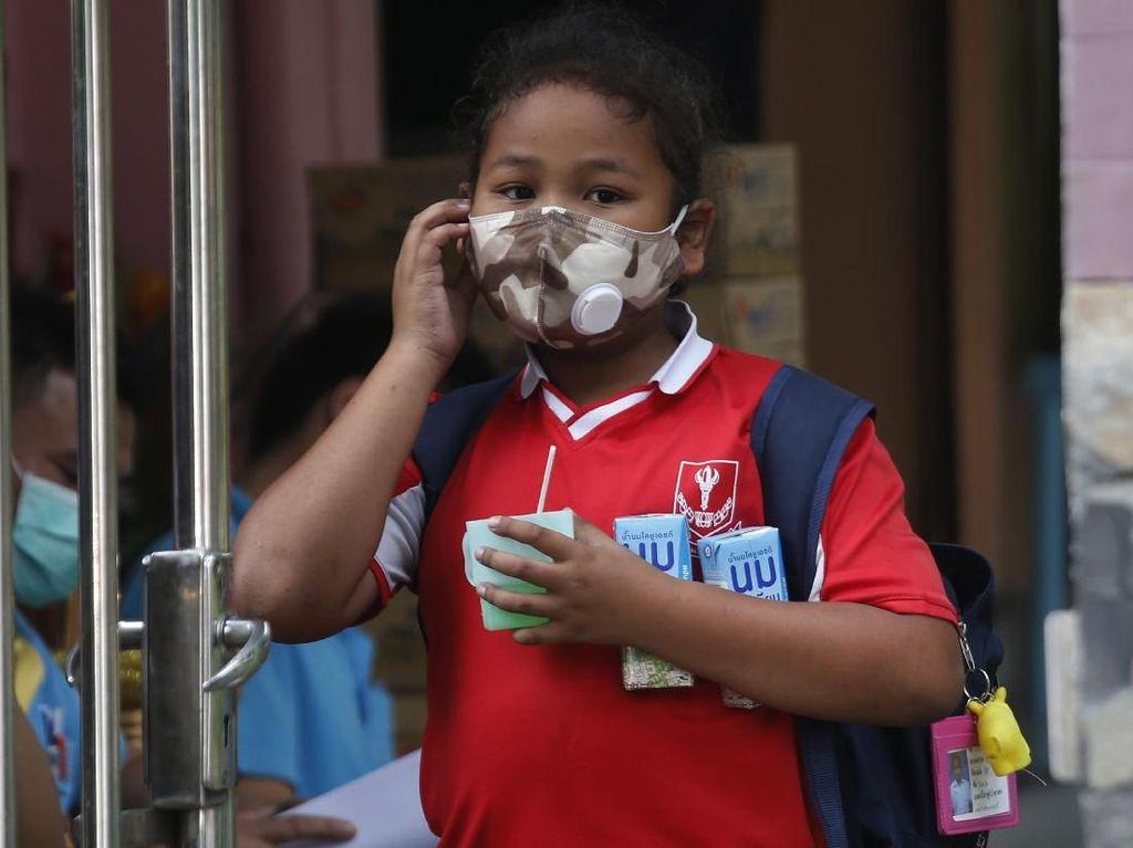 Polusi Udara Makin Parah, Thailand Liburkan Sekolah