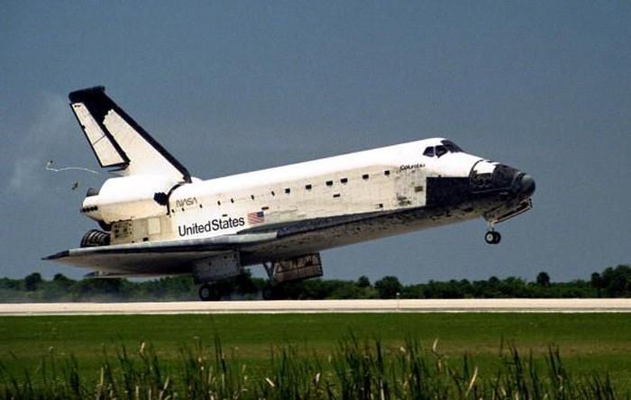 Pesawat ulang alik Columbia. Foto: Getty Images