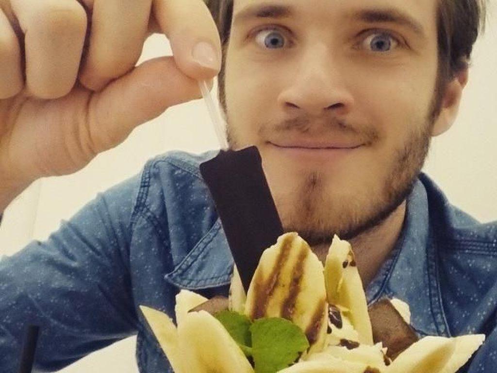 Gaya Kulineran Keren PewDiePie, YouTuber dengan Subscribers Terbanyak di Dunia