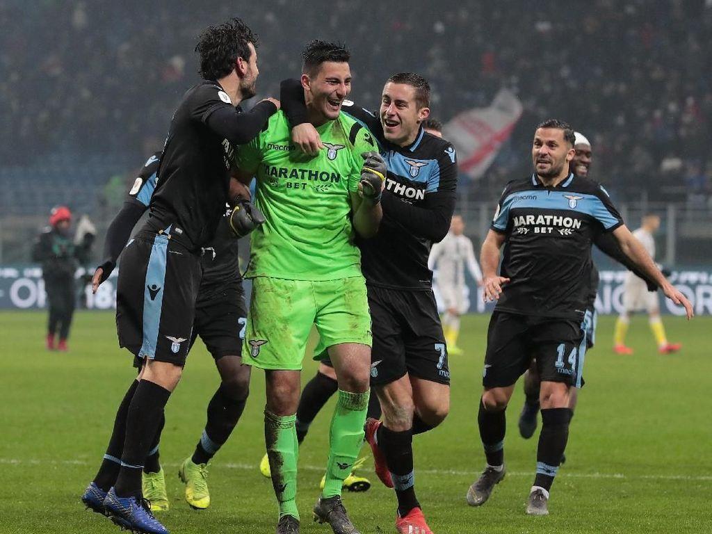 Drama Adu Penalti di Giuseppe Meazza, Lazio Singkirkan Inter
