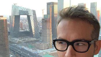 Candaan Ryan Reynolds: Gedung di China Ini Mirip Celana Dalam