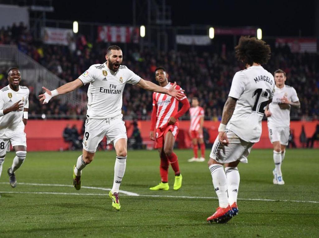 Hasil Copa del Rey: Kalahkan Girona, Madrid Melangkah Mantap ke Semifinal