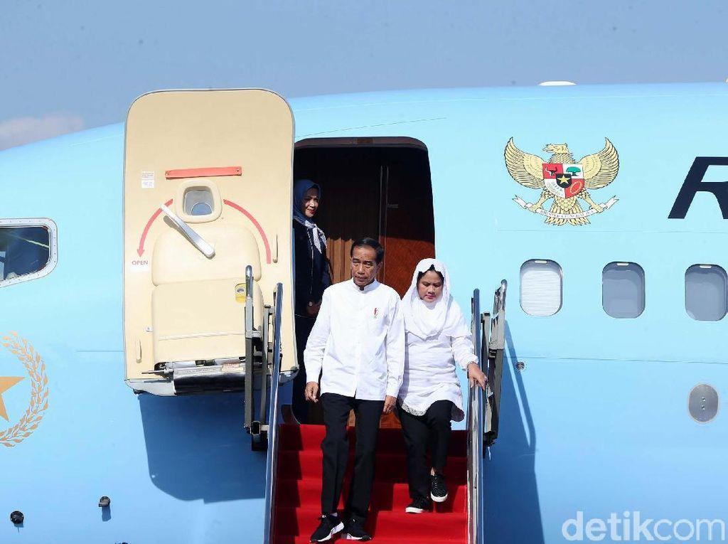 Video Jokowi ke Korsel, Dilepas Anies hingga Maruf Amin di Bandara
