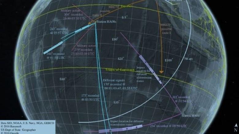 Pesawat MH370 Malaysia Mungkin Jatuh di Madagaskar