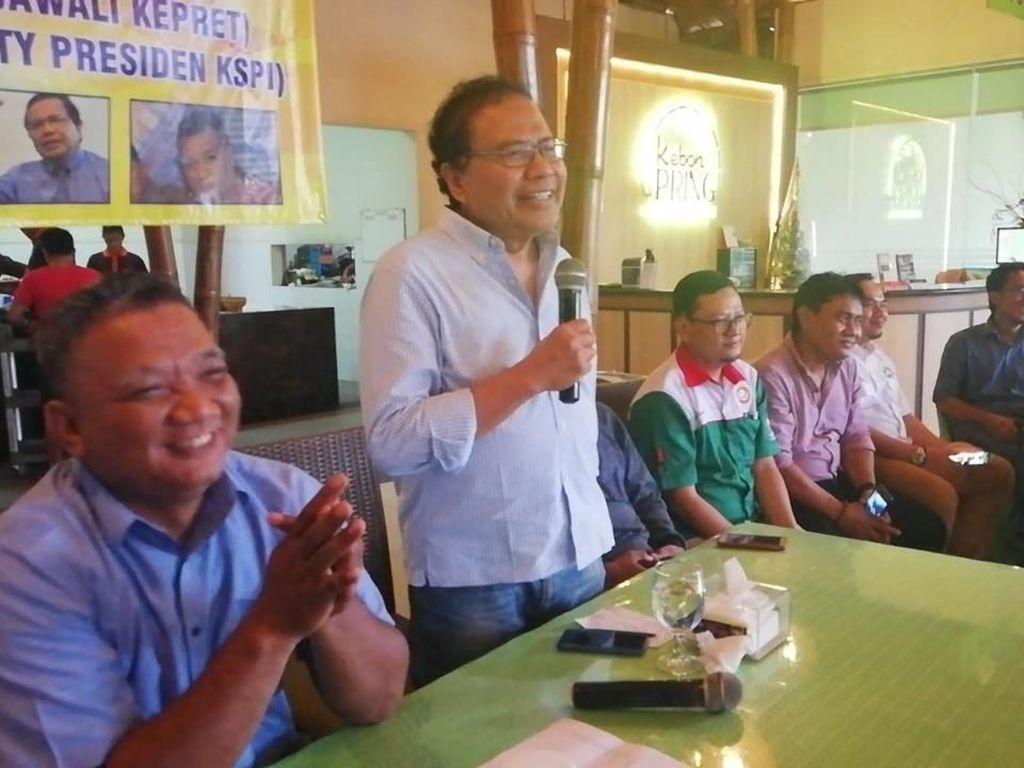 Pidato Jokowi, Rizal Ramli : Ngeles Melulu