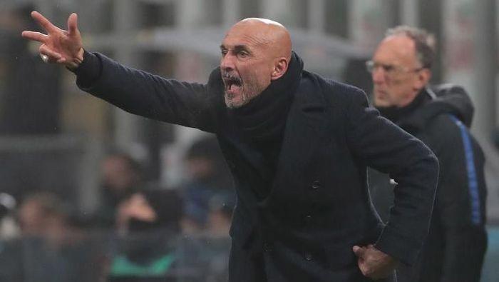 Pelatih Inter Milan Luciano Spalletti. (Foto: Emilio Andreoli/Getty Images)