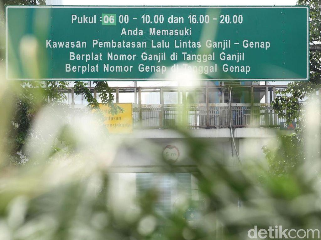 Nekat Melanggar Ganjil-genap Jakarta Bisa Dikurung Penjara
