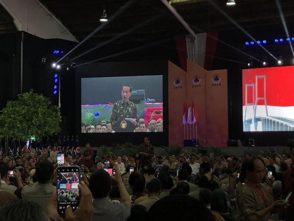 Jokowi: Kalau Ada Bencana, Gubernur Jadi Komandan Satgas Darurat
