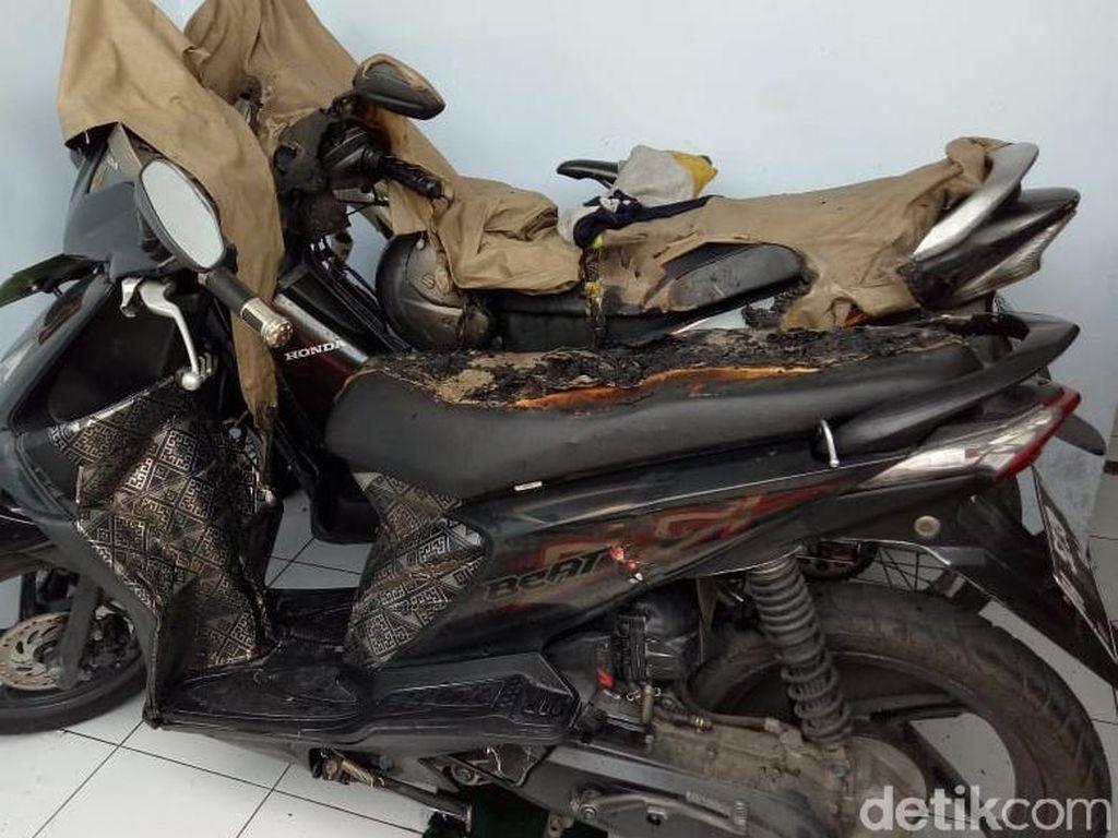 Setelah Mobil, Target Pembakaran di Semarang Bergeser ke Motor