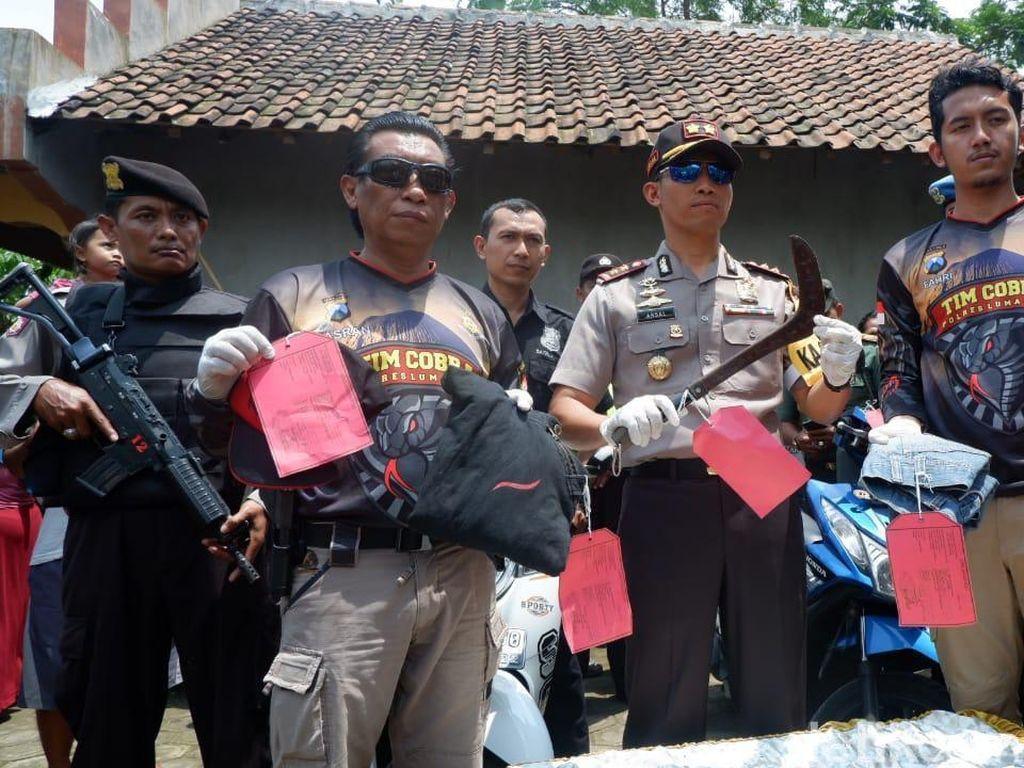 Pelaku Kejahatan di Lumajang Tidak Diberi Ampun, 15 Penjahat Didor