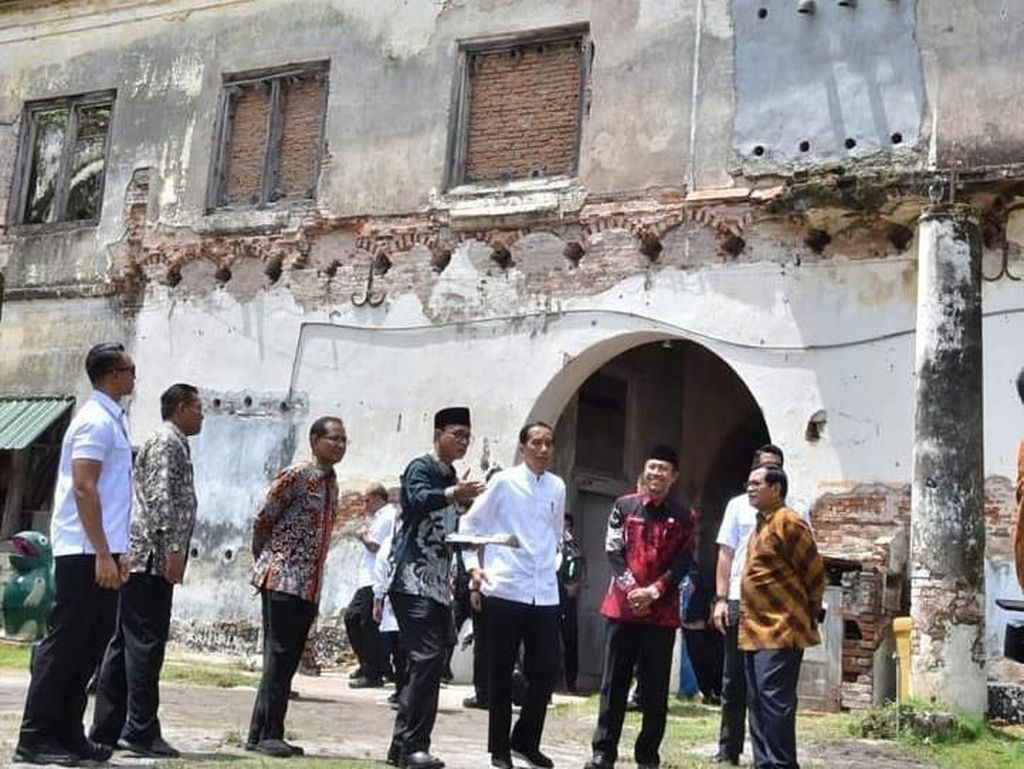 Jokowi: Benteng Pendem Ngawi Direstorasi dalam 2 Tahun