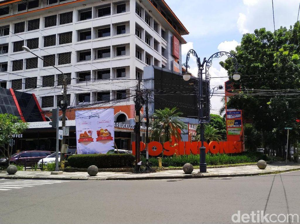 Penampakan Gedung Pos Bandung Pasca Pak Pos Tak Digaji
