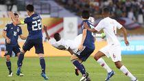 Melihat lagi Gol-gol Keren Qatar saat Libas Jepang