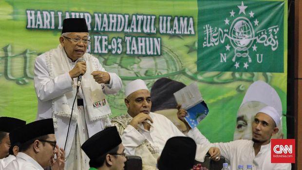 KPU Gladi Bersih Debat Ma'ruf Amin - Sandiaga Uno