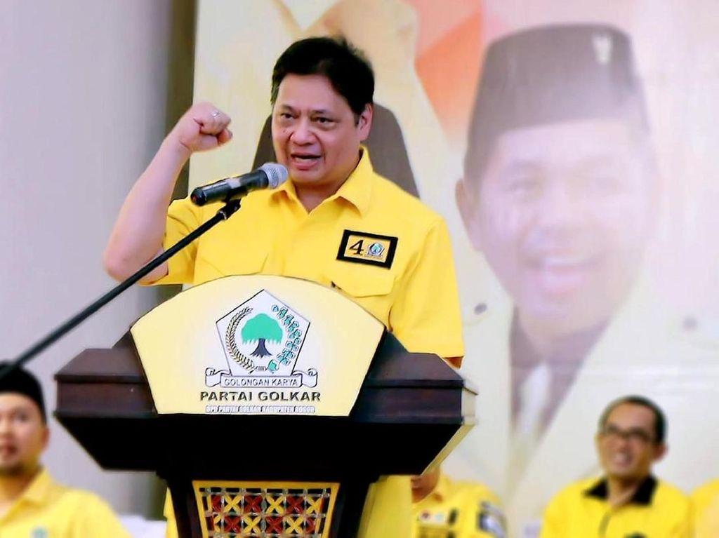 PKB Minta 10 Kursi Menteri, Airlangga: Suara Golkar Lebih Tinggi