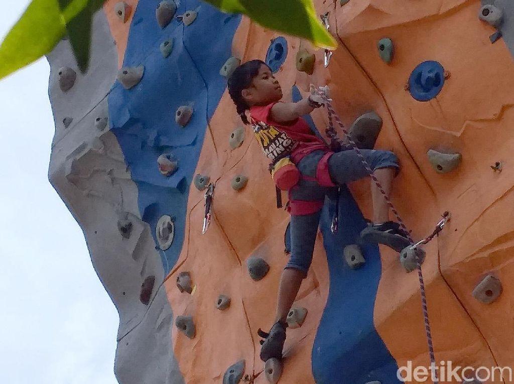 Berjuluk Laba-laba Kecil, Balqis: Aku Suka Tantangan