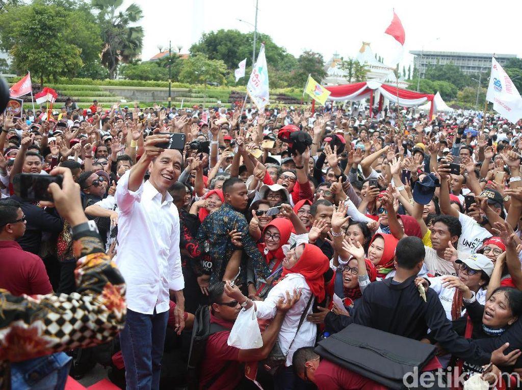 Jokowi: Saya Kurus tapi Tak Takut untuk Kepentingan Bangsa