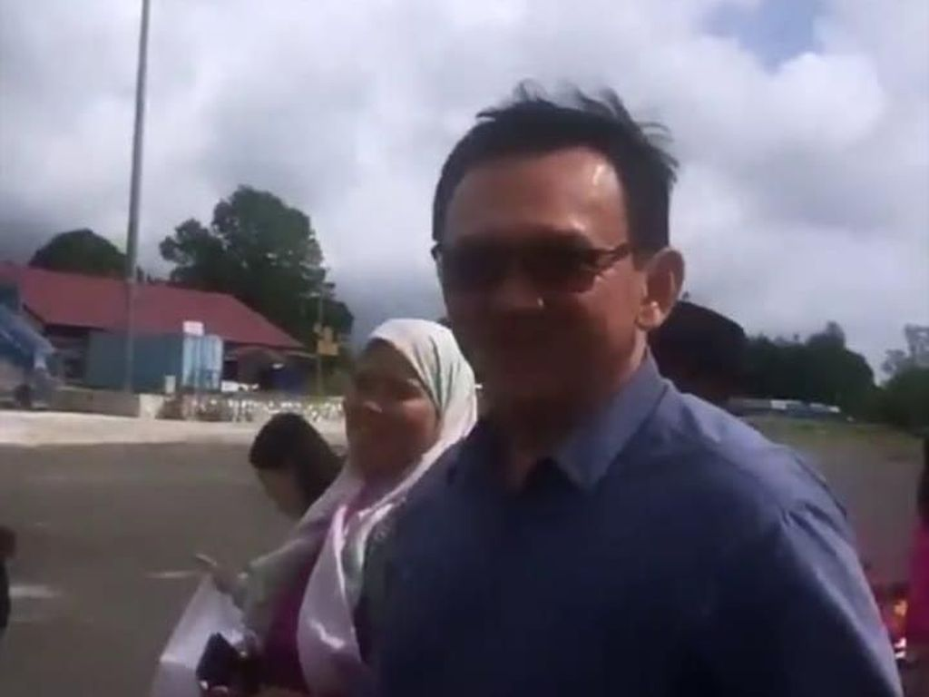 Ahok Pulang Kampung ke Belitung