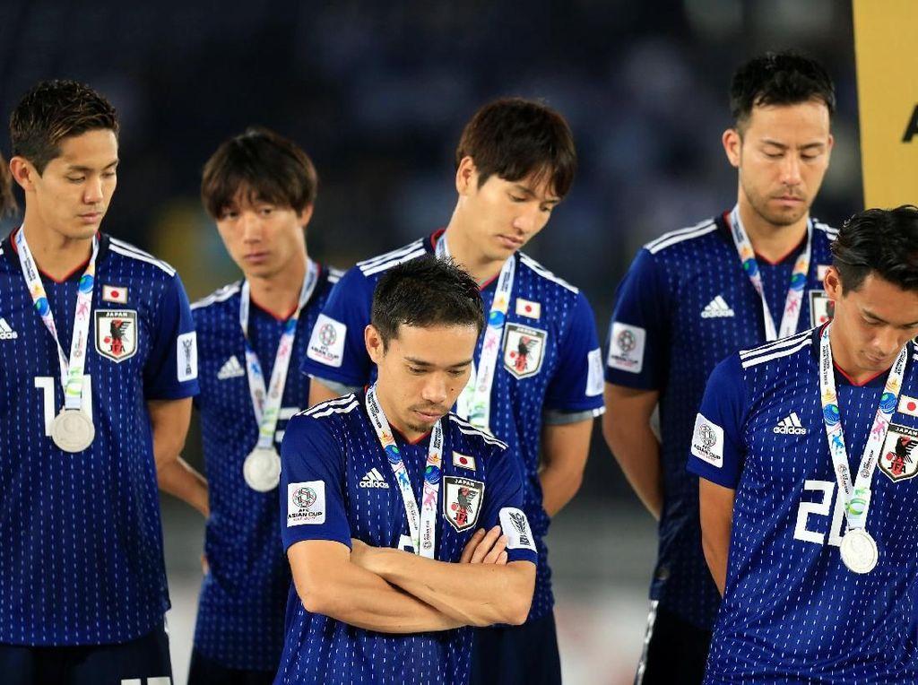 Meski Kalah di Final Piala Asia, Jepang Tak Lupa Bersih-Bersih Ruang Ganti