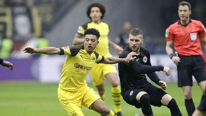 Dortmund diimbangi Frankfurt 1-1 (AP Photo/Michael Probst)