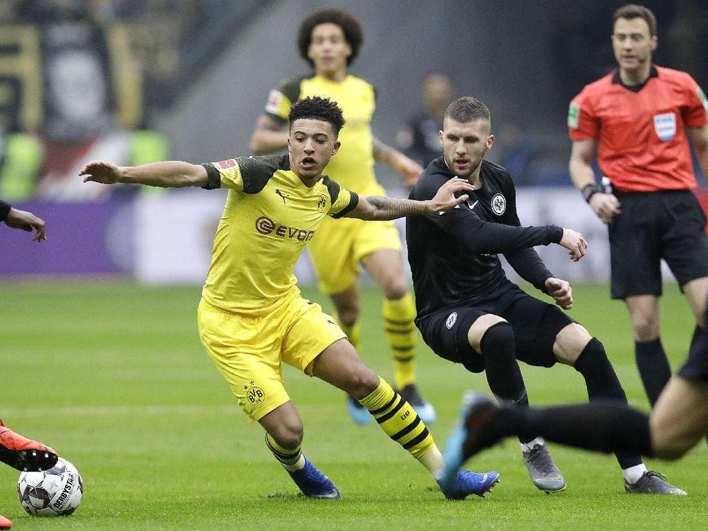 Hasil Liga Jerman: Dortmund Diimbangi Eintracht Frankfurt 1-1