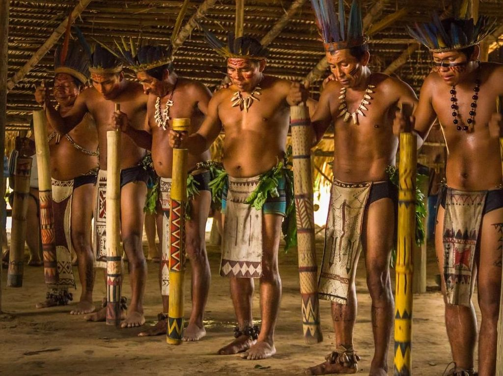 Foto: Suku Amazon yang Terancam Punah