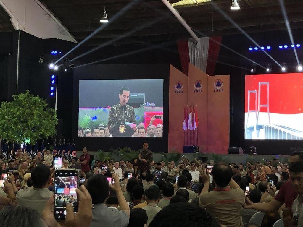 Jokowi: Pembangunan Harus Berlandaskan Pengurangan Risiko Bencana
