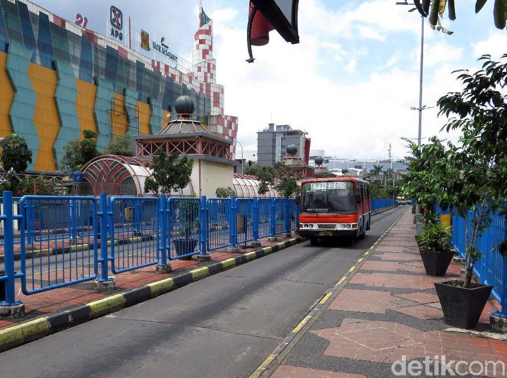 40 Angkutan Umum Bandel Terjaring Razia di Setiabudi