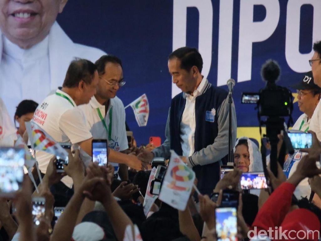 Sindiran Jokowi soal Surat Suara Tercoblos hingga Selang Darah RSCM