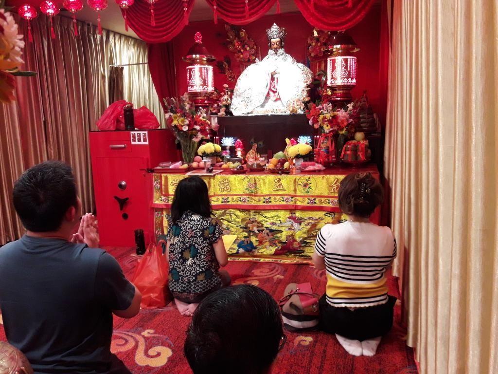 Kemeriahan Perayaan Imlek di Vihara Dharma Bhakti