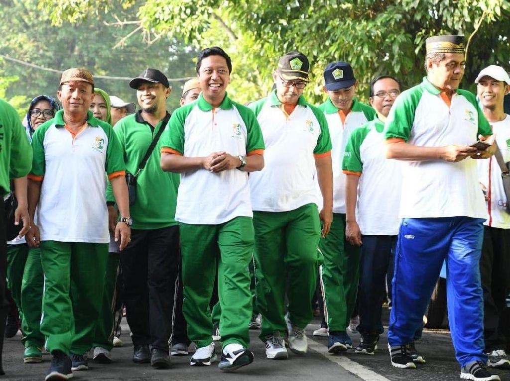 Harlah PPP Ke-46, Rommy Buka Jalan Sehat dan Gowes Sepeda di Jember