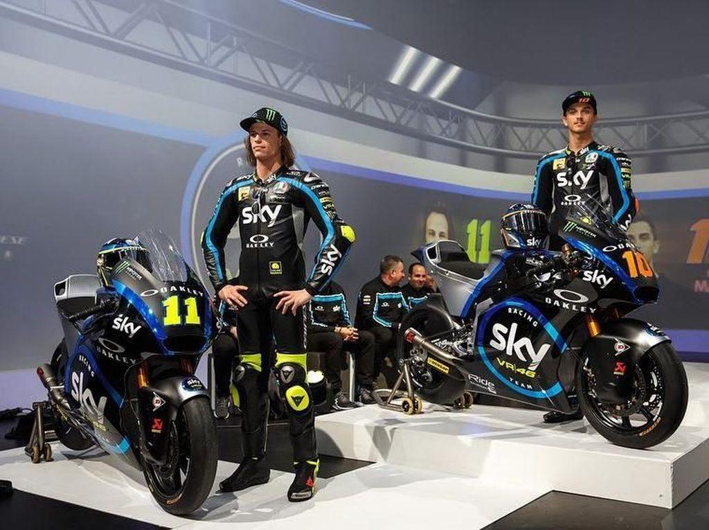 Sky Racing Team VR46, Tim Balap Rossi Siap Pertahankan Gelar Moto2