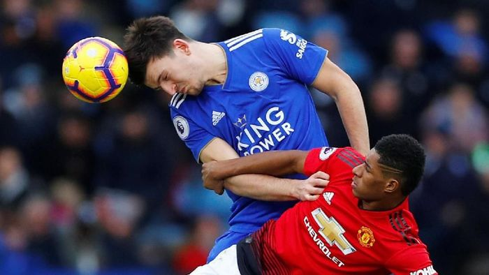 Harry Maguire pilih Manchester City ketimbang Manchester United? (REUTERS/Eddie Keogh)