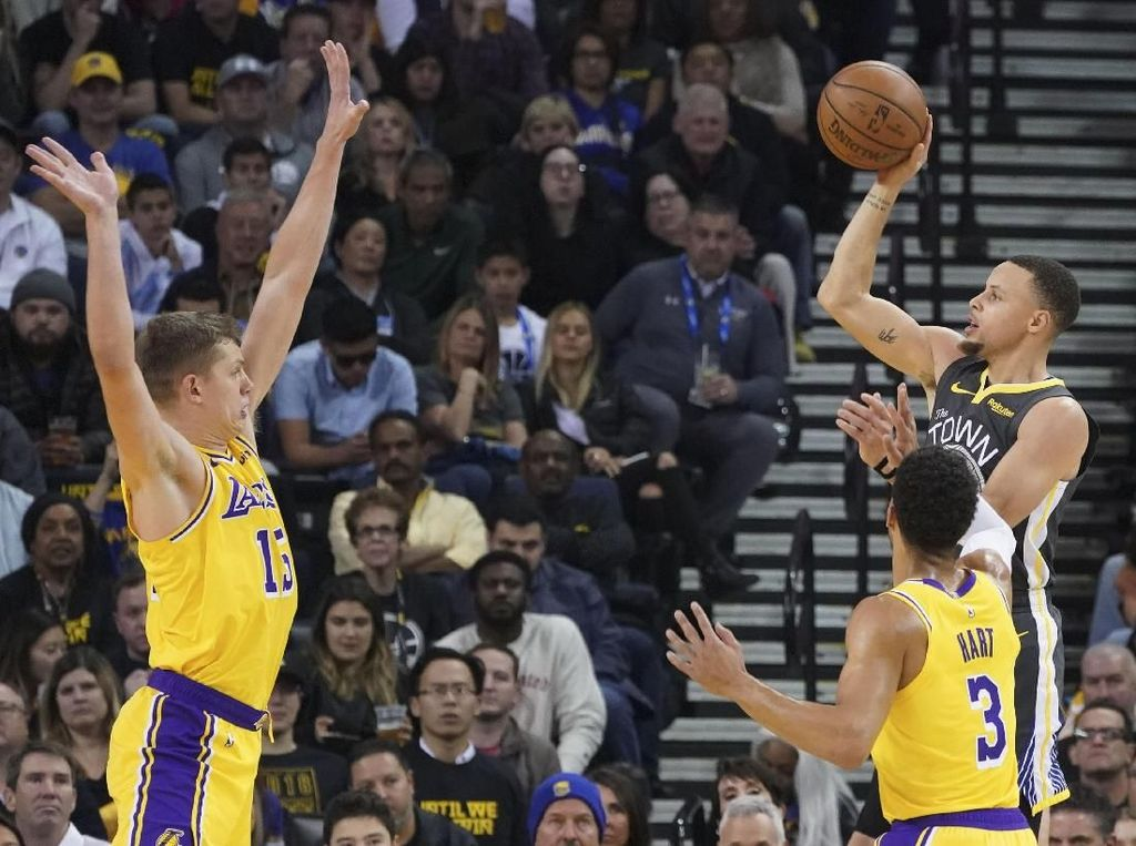 LeBron Absen Lagi, Lakers Tumbang di Kandang Warriors