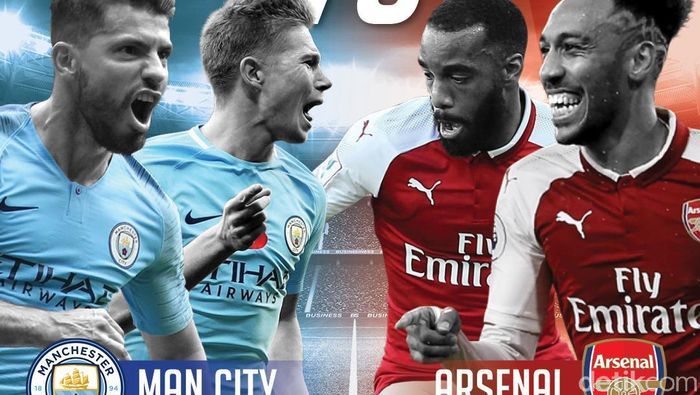 Man City Libas Arsenal