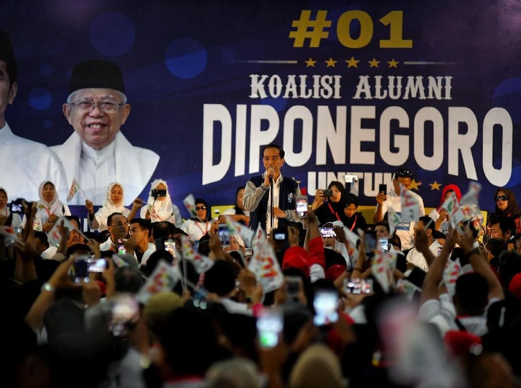 Koalisi Alumni Undip Beri Dukungan Untuk Jokowi-Maruf Amin