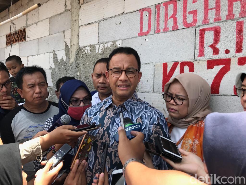 Tak Puas dengan Swasta, Anies Segera Ambil Alih Pengelolaan Air Jakarta