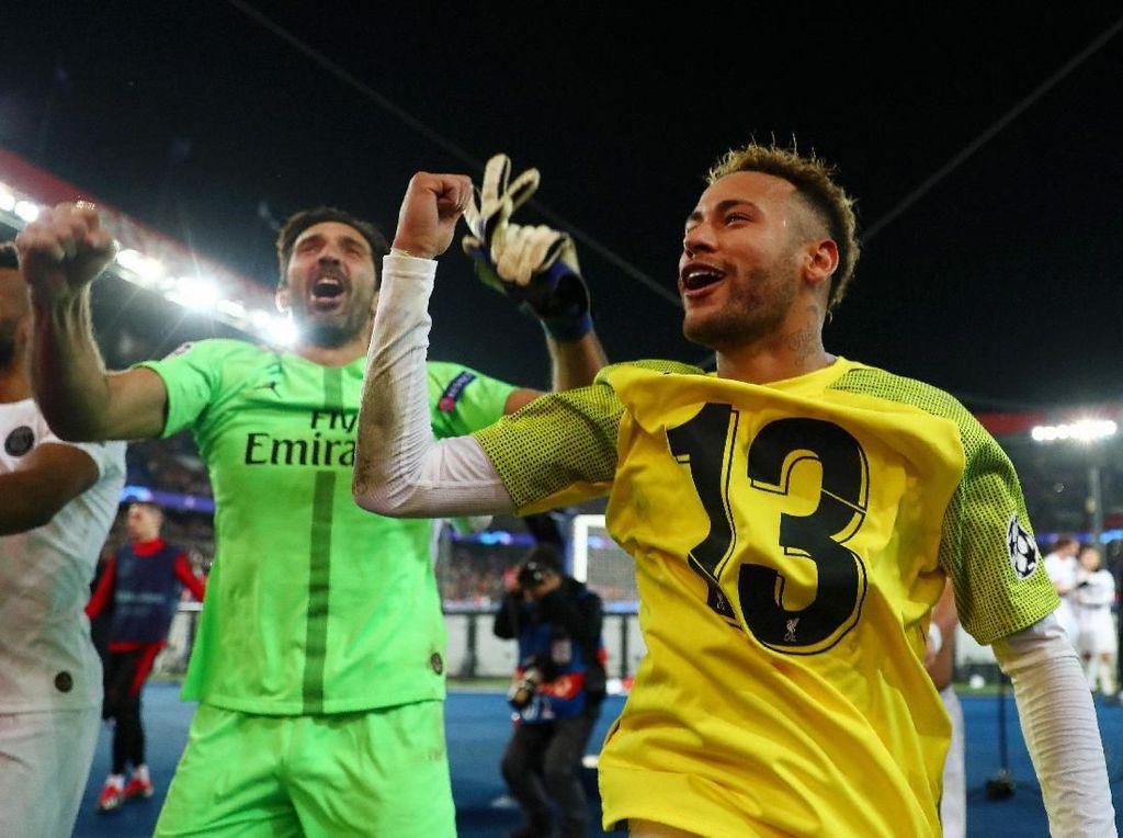 Neymar Cedera, Buffon Cemaskan Kans Juara PSG di Liga Champions