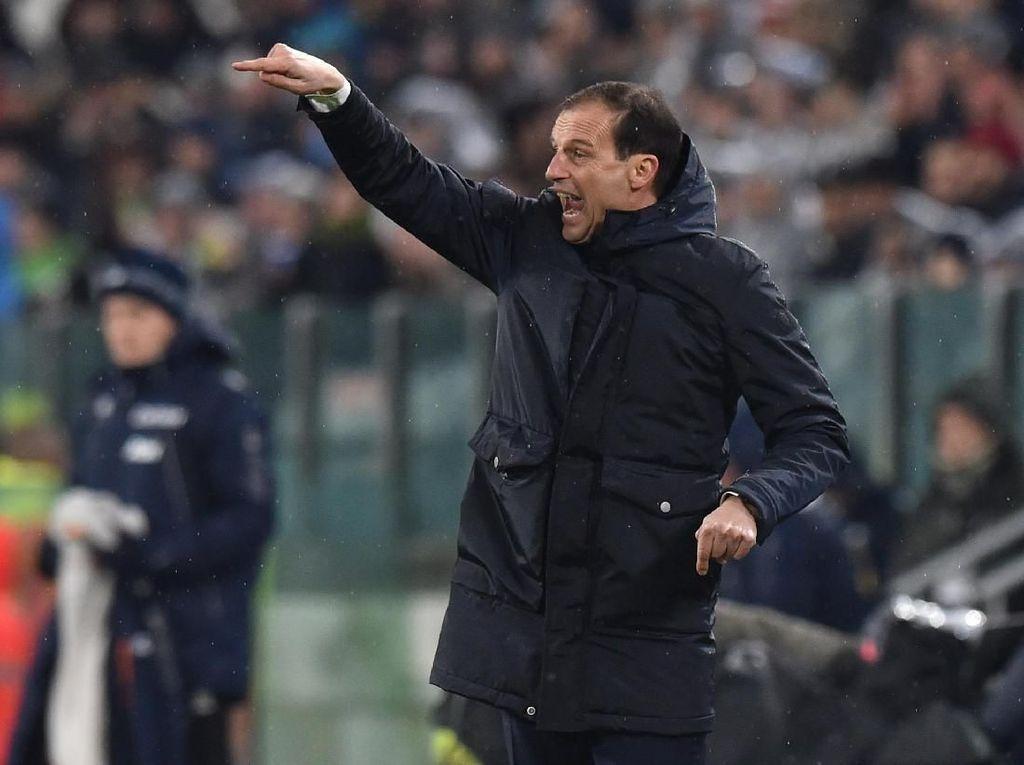 Gemasnya Allegri Lihat Kenaifan Juventus