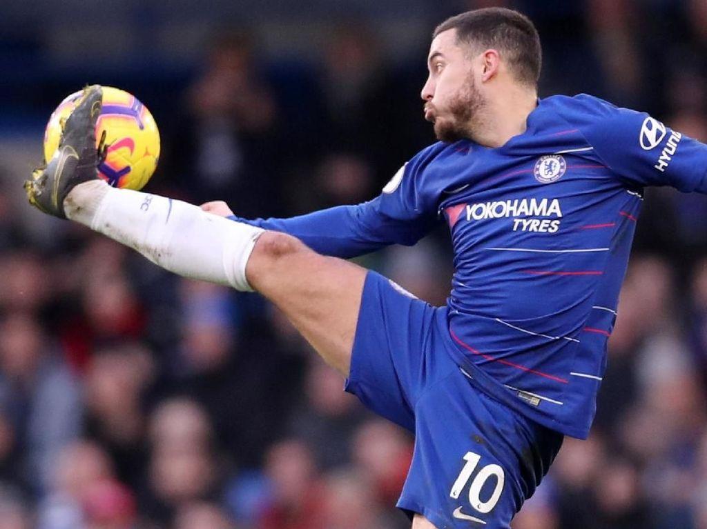 Hazard: Sekarang Fokus ke Liga Europa dan Premier League, Setelah Itu...